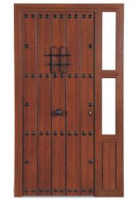 Puertas de aluminio color madera color de aluminio de la for Puertas de aluminio imitacion madera exterior precios
